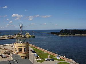 Port of Gdańsk - Entrance to the Inner Port