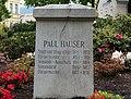Gedenkstein Paul Hauser, Schillerpark Villach, Kärnten.jpg