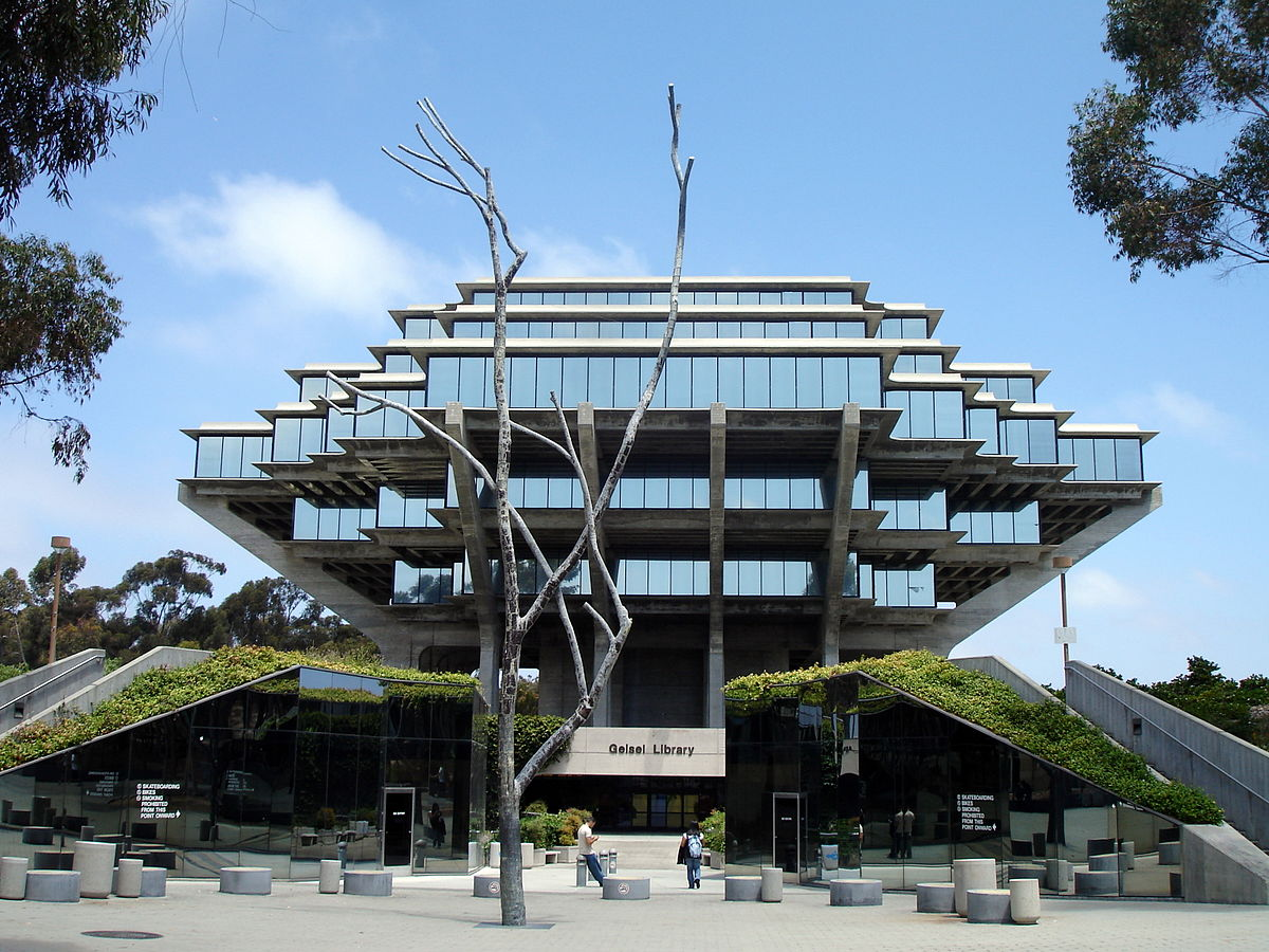 Geisel library wikipedia for Architecture 1970