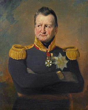 David Hendrik Chassé - General David Hendrik Chassé by Jan Willem Pieneman