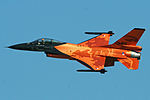 General Dynamics F-16AM J-015 (9223636239).jpg