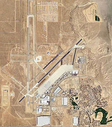 George Air Force Base (closed, currently named Southern California Logistics Airport), former Victorville Army Airfield in a 2006 USGS air photo