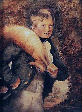 George Bingham, 3rd Earl of Lucan - George, Lord Bingham, at age 14