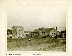 George Bradford Brainerd. Blacksmith Shop, East Hampton, Long Island, ca. 1872-1887