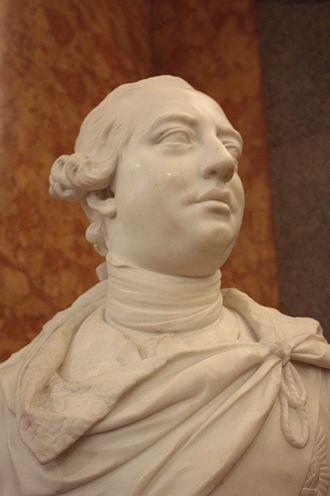 John van Nost the younger - George III by John van Nost the younger, 1764, British Museum