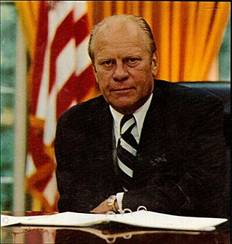 Presidency of Gerald Ford - Ford in the Oval Office, 1974