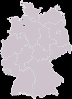 Tyskland med Bremen har markeret