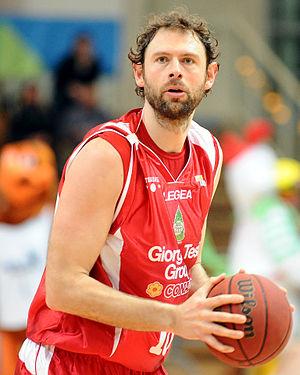 Giacomo Galanda - Image: Giacomo Galanda Pistoia Basket 2000 2013 02