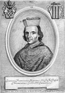 Giovanni Francesco Negroni Italian cardinal