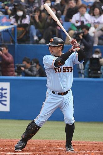 Shinnosuke Abe - Abe with the Yomiuri Giants