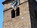 Gimmeldingen (Rheinland-Pfalz)-Kirchturm von Norden - Obergeschoß mit Biforium im Detail-02062013.JPG