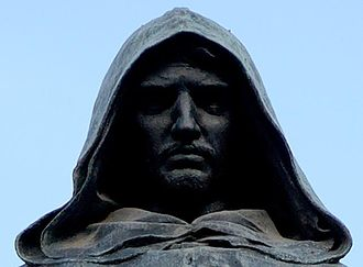 Mnemonic - Detail of Giordano Bruno's statue in Rome. Bruno was famous for his mnemonics, some of which he included in his treatises De umbris idearum and Ars Memoriae.