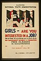 Girls - are you interested in a job? LCCN98517815.jpg