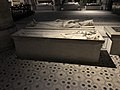 Gisants Clovis Ier Childebert Ier Basilique St Denis St Denis Seine St Denis 2.jpg