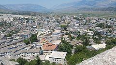 Billede på byen Gjirokastra