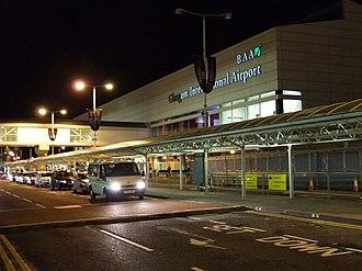 Paisley, Renfrewshire - Glasgow Airport in Paisley's Abbotsinch area.