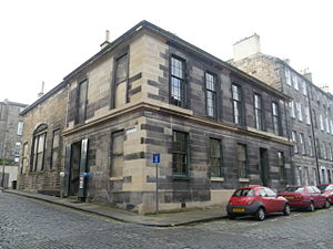 John Glas - Glasite Meeting House, Edinburgh (1835)