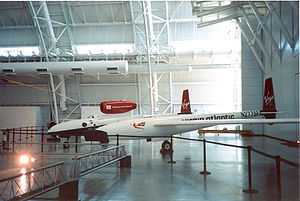 Virgin Atlantic GlobalFlyer - GlobalFlyer at Smithsonian Institution National Air and Space Museum Udvar-Hazy Center