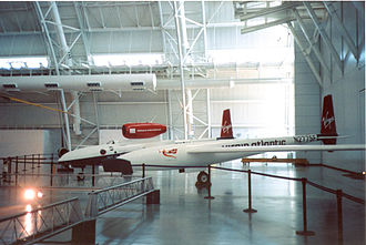 Virgin Atlantic GlobalFlyer - GlobalFlyer at Smithsonian Institution National Air and Space Museum Udvar-Hazy Center