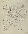 God The Father Creating (?) (r.); Study of neo-classical statue of a nude male (v.) MET 1998.406.3a.jpg