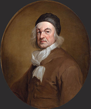 Charles de Saint-Évremond - Portrait of Charles de Saint-Évremond by Godfrey Kneller. c. 1680s