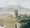 Goethe in der Campagna (Grabmal).jpg