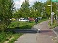 Gonfrevillestraße an der Ausfahrt des P^R-Parkplatzes - panoramio (1).jpg