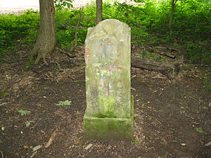 Gore Orphanage - Driveway marker for Swift Mansion