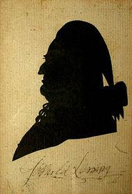 Lessing um 1780 (Quelle: Wikimedia)