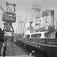 Goudbuit afbeelding van de Zaanstroom Het schip aan de Oostelijke Handeskade, Bestanddeelnr 915-2407.jpg
