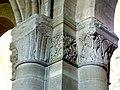 Gournay-en-Bray (76), collégiale St-Hildevert, bas-côté nord, chapiteaux du 2e pilier libre, côté nord-ouest.jpg