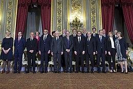 Governo della repubblica italiana wikipedia for Sito governo italiano