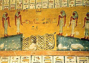 KV2 - Image: Grabmalereien