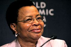 Graca Machel, World Economic Forum on Africa 2010.jpg