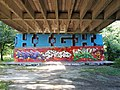 Graffiti op de Amsterdamse brug, brug 54P pic6.JPG