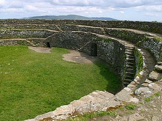Inishowen - The Grianán of Aileach is a stone fort on the Inishowen peninsula.