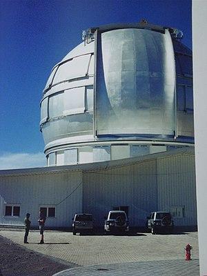 Roque de los Muchachos Observatory - Image: Gran telescopio 20030331