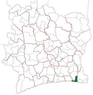 Grand-Bassam Department Department in Comoé, Ivory Coast