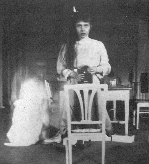 Grand Duchess Anastasia Nikolaevna self photographic portrait