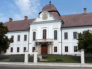Grassalkovich Mansion (Hatvan) the oldest building of Hatvan, Hungary