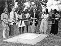 Grave of Milton Vogt, Bathet, Bihar, India, 1973 (16431716624).jpg