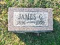 Gravemarker Of James G. Polk, Highland, Ohio.jpg