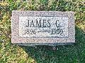 Gravemarker Of James G. Polk, Highland, Ohio.jpg