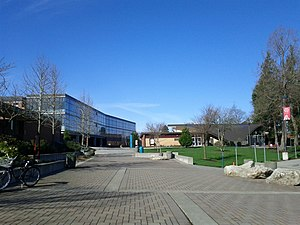 Everett Community College - Gray Wolf Hall and the Henry M. Jackson Conference Center on the EVCC campus in North Everett.