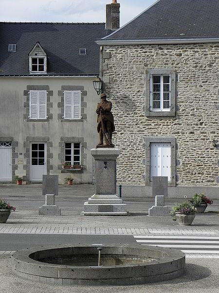 Monument aux morts de Grazay (53).