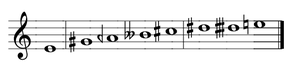 Phrygian mode - Image: Greek Phrygian enharmonic genus