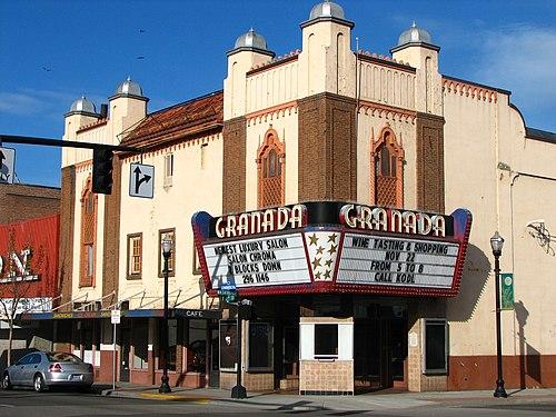 granada theatre wikivisually