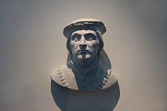 Humbert I of Viennois - Bust of Humbert I