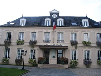 Gretz-Armainvilliers - The town hall of Gretz-Armainvilliers