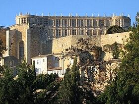 Vue d'ensemble du château